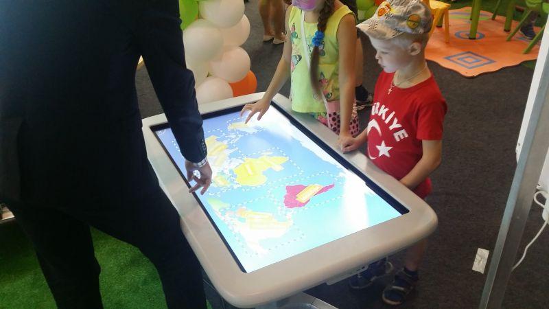интерактивный стол красноярск