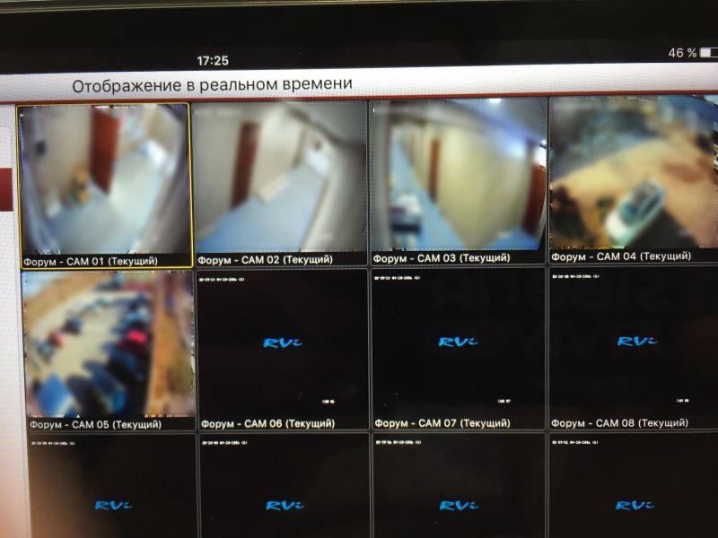 организовать систему видеонаблюдения