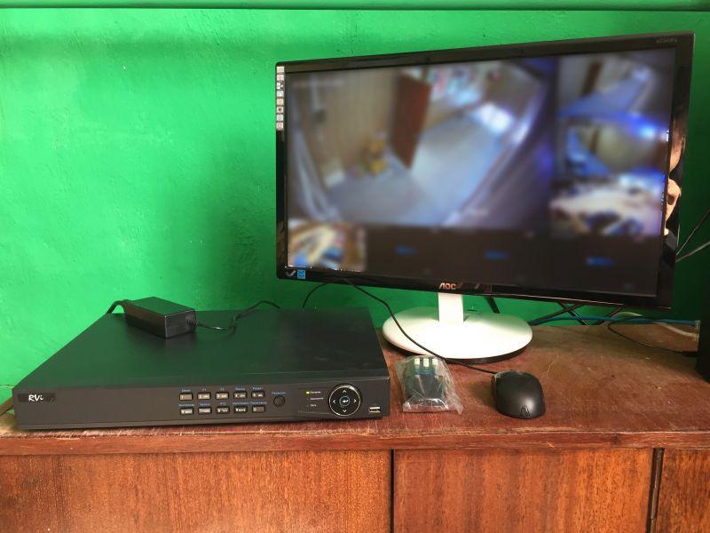 установить систему видеонаблюдения